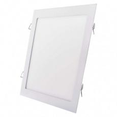 LED panel 300×300, čtvercový vestavný bílý, 24W neutrální b.