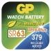 Knoflíková baterie do hodinek GP 379F (SR63, SR521) - 10ks