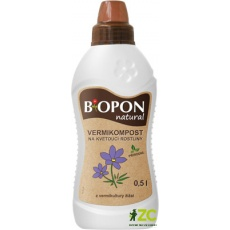 Bopon - Natural Vermikompost pro kvetoucí rostliny 500 ml BROS