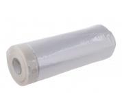 Páska maskovací samolepící s folií 140cmx30M