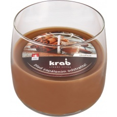 Svíčka sklo - aroma skořice 125 g