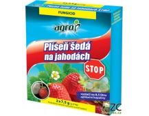 Agro Plíseň šedá na jahodách STOP - 2 x 7,5 g (ZÁRUKA 11/2019)