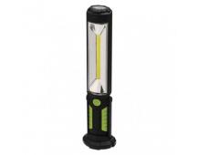 COB LED + LED pracovní svítilna P4525,500 lm,Li-Ion 2000 mAh