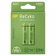 Nabíjecí baterie GP ReCyko 1300 AA (HR6) - 2ks