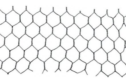 Pletivo HEX,25/1x1000x25M PVC