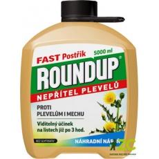 Roundup Fast / bez glyfosátu - 5 l náhradní náplň EVERGREEN
