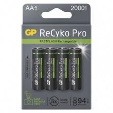 Nabíjecí baterie GP ReCyko Pro Photo Flash AA (HR6) - 4ks
