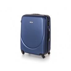 PRETTY UP Kufr na kolečkách ABS16, velký, tmavě modrý