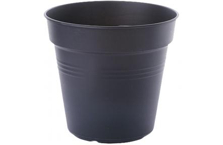 Květináč Green Basics - living black 19 cm