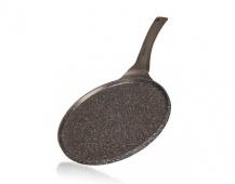 BANQUET Pánev na palačinky s nepřílnavým povrchem GRANITE Dark Brown 26 cm