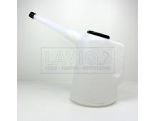 Groz ODMĚRKA 5 litrů s polyethylenovým víčkem
