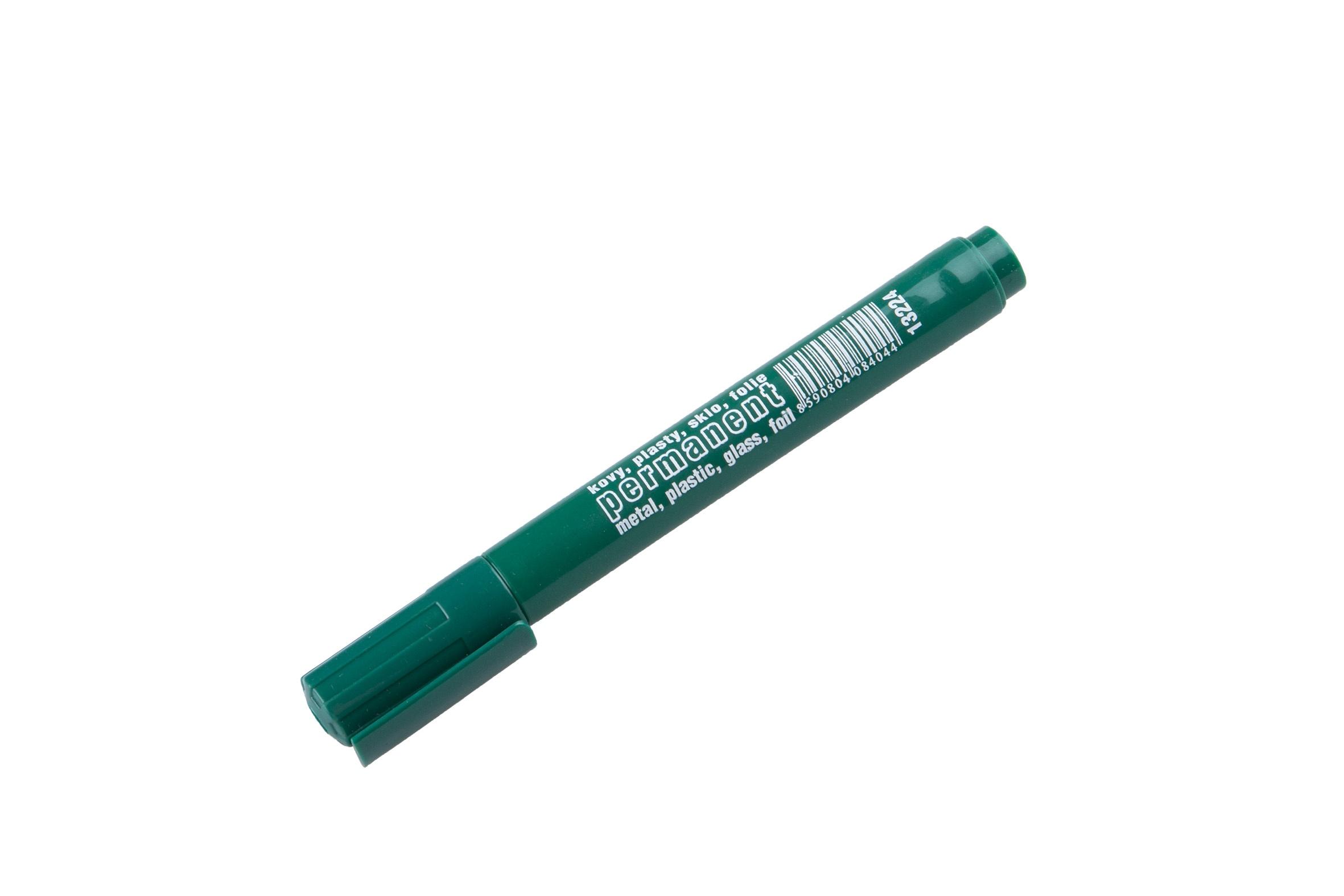 Permanentní značkovač(fix)-zelený
