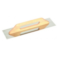 Hladítko FESTA nerez dřevěná rukojeť 360x130mm rovné