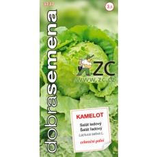 Dobrá semena Salát celoroční ledový - Kamelot 0,4g