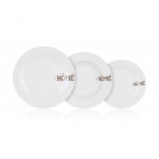 BANQUET Sada talířů HOME Coll., 18 ks