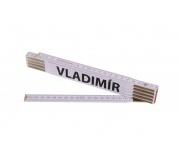 Skládací 2m VLADIMÍR (PROFI, bílý, dřevo)