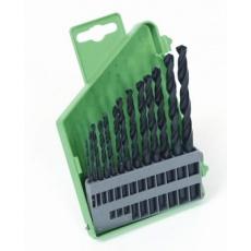 Sada HSS vrtáků 1. 5-6. 5mm (po 0. 5mm) 13ks plast