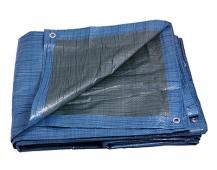 PE plachta   5x8 EKONOMIK modrá