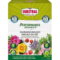 Substral granulovaný Performance Organics - zahrada 1 kg EVERGREEN