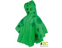 Dětská pláštěnka pončo zelená Stocker