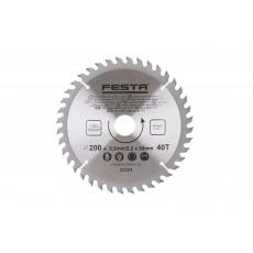 Kotouč pilový FESTA SK 200/3. 2/30mm 40T