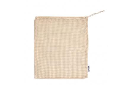Sáček bavlna zatahovací děrovaný/plný ECO 36x40cm