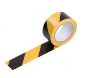 Varovací páska 33M černá-žlutá samolepíc