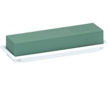 Florex - table deco miska bílá medi 25x9x5 cm
