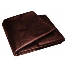 Netkaná textílie 1. 6x5m hnědá 50g/m2