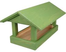 Krmítko pro venkovní ptactvo - č. 12, velké zelené