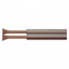Dvojlinka ECO 2x2,5mm, průhledná, 100m - 100m