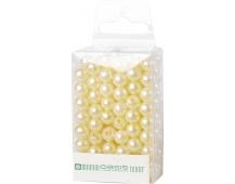 Dekorační perly - 8 mm (144 ks) krémové