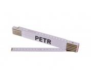 Skládací 2m PETR (PROFI, bílý, dřevo)