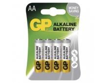 Alkalická baterie GP Alkaline AA (LR6) - 4ks