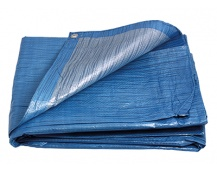 PE plachta   6x8/70 modr/stř