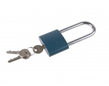 Visací zám.modrý FESTA 45mm prodloužený