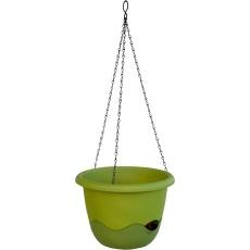 Květináč Mareta závěsný - zelená světlá + tmavá 25 cm