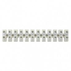 Svorkovnice 12x10,0 mm bílá - 10ks