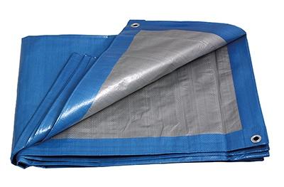 PE plachta PROFI   5x8/140 modr/stř