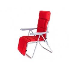 HAPPY GREEN Židle zahradní skládací MANILLA 74 x 57 x 106 cm,červená