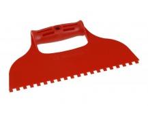 Stěrka plast zuby 6x6mm