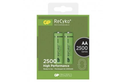 Nabíjecí baterie GP ReCyko+ 2500 (AA) - 2ks
