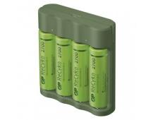 Nabíječka baterií GP Everyday B421 + 4× AA ReCyko 2700 + USB