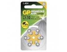 Baterie do naslouchadel GP ZA10 (PR70) - 6ks