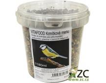 Krmítkové menu kbelík - 1180 ml