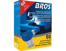 Bros - el. odpařovač proti komárům s tek. náplní 40 ml (60 nocí)