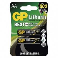 Lithiová baterie GP AA (FR6) - 2ks