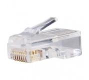Konektor pro UTP kabel (drát), bílý - 20ks