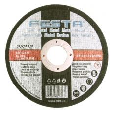 Kotouč řezný FESTA na kov 115x1x22. 2mm