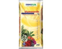 Substrát Gramoflor - Květinový s jílem 20 l
